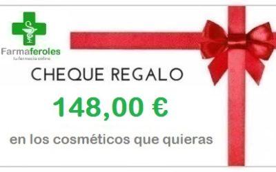 Escribe una reseña en Google y participa en el sorteo de un cheque regalo de 148,00€.